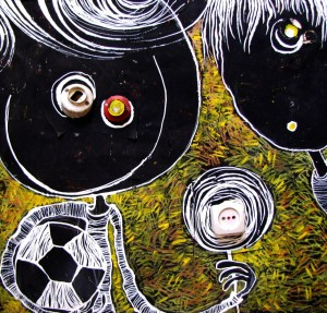 بچه هزارپا و فوتبال