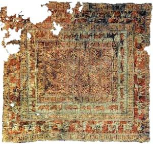 نخستین فرش ایرانی
